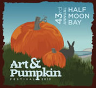 Jalf Moon Bay Art & Pumpkin festival.