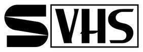 S-VHS video official logo.