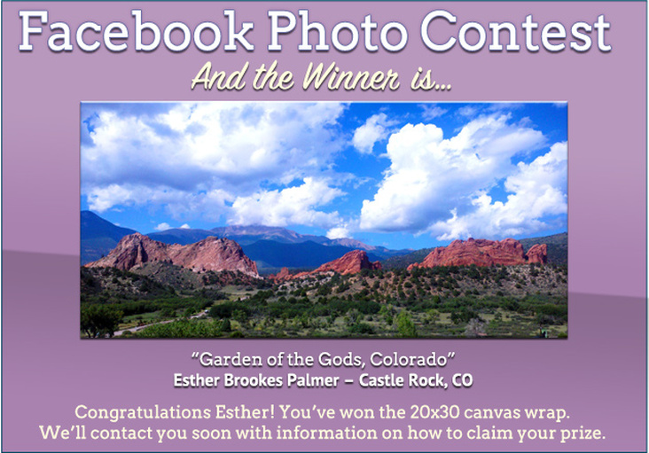 Facebook photo contest. And the winner is