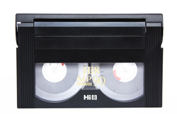 Hi 8 Video cassette tape.