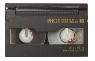 Hi8 video tape.